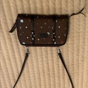 Thirty One cross body wallet bag